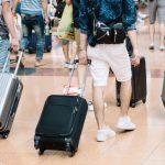 成田空港第1ターミナルでスーツケースのキャスターを修理交換する方法